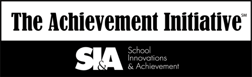 Logo for the Achievement Initiative, one of TALAS' corporate partners.