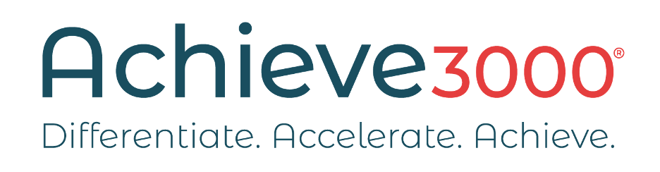 Logo for Achieve3000, one of TALAS' corporate partners.