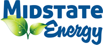 Logo for Midstate Energy, one of TALAS' corporate partners.
