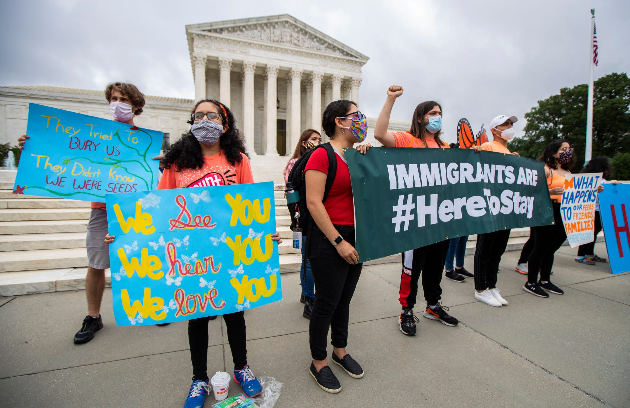 For DACA recipients, a Senate vote and a Texas judge stand between citizenship and deportation